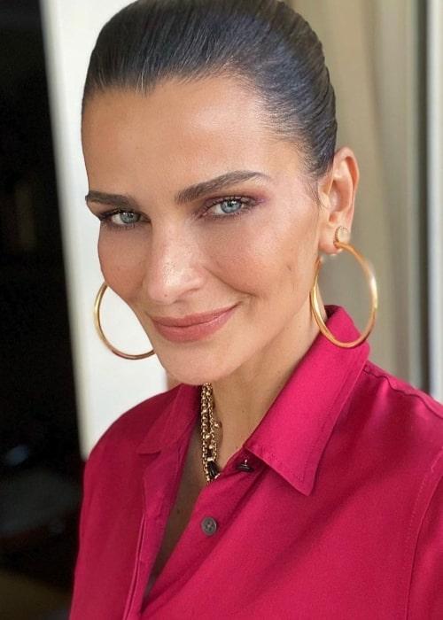 Fernanda Motta as seen in a selfie that was taken in November 2020