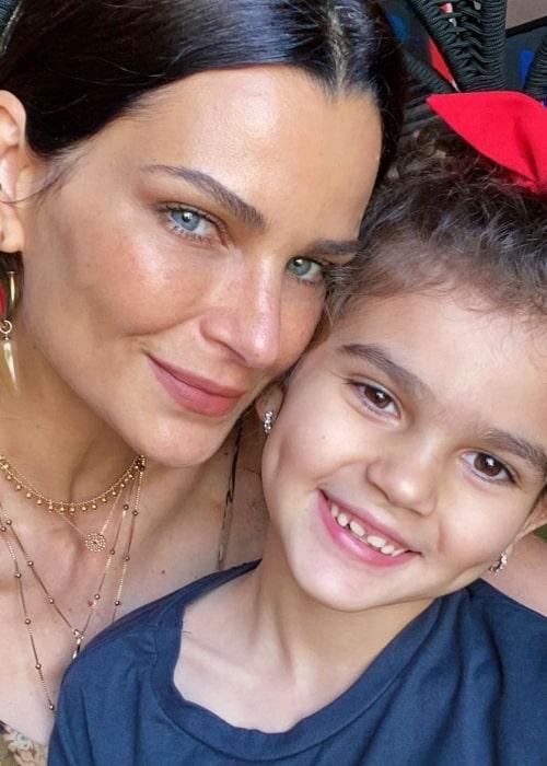 Fernanda Motta as seen in a selfie that was taken with her daughter Chloe in September 2020