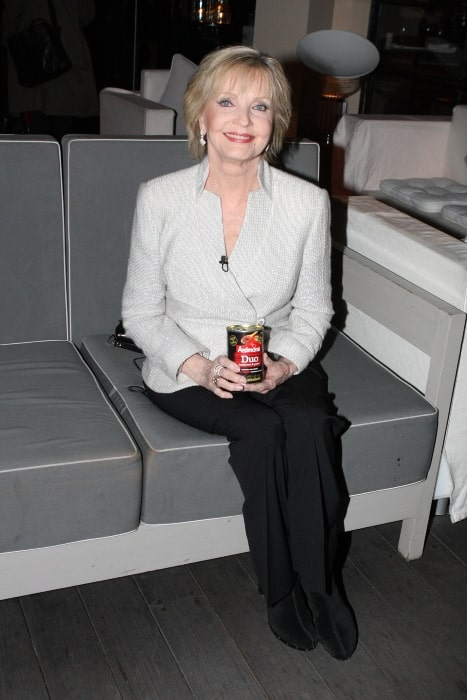Florence Henderson in Sydney for book promotion in June 2012