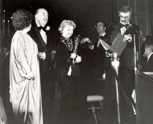 Gary Owens (Corner Right) pictured at the National Film Society Convention in May 1979
