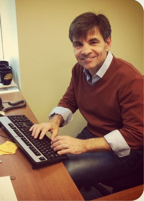 George Stephanopoulos as seen in 2013