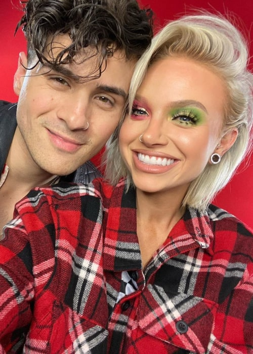 Glam&Gore and Anthony Padilla, as seen in July 2020