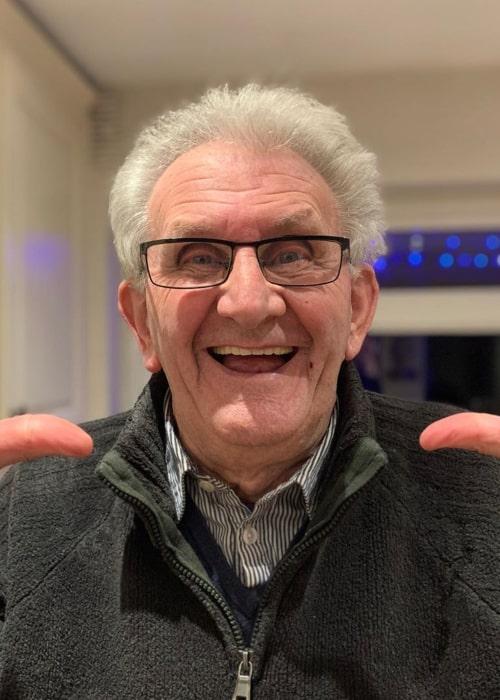 Grandad Frank as seen in an Instagram Post in February 2020