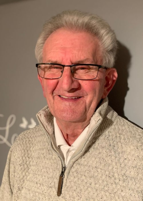 Grandad Frank as seen in an Instagram Post in January 2020