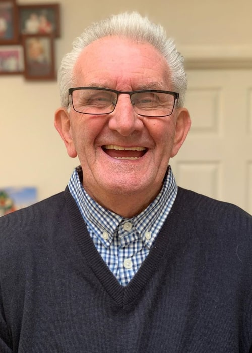 Grandad Frank as seen in an Instagram Post in October 2020