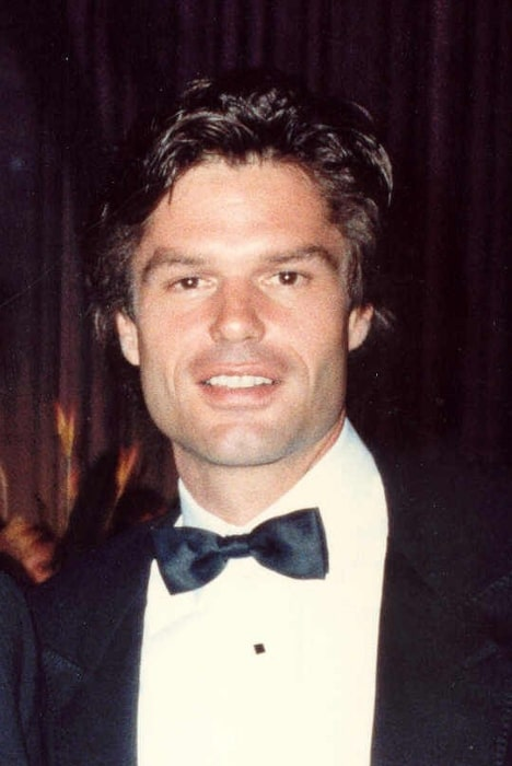 Harry Hamlin as seen while smiling in a picture at 39th Emmy Awards - Governor's Ball