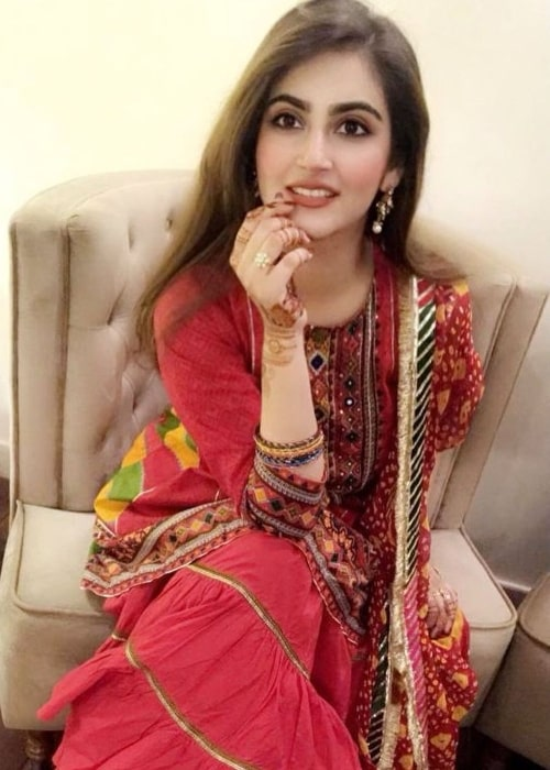Hiba Bukhari as seen in an Instagram post in August 2020