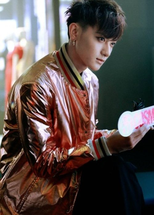 Huang Zitao seen at the Ports 1961 opening ceremony in 2015