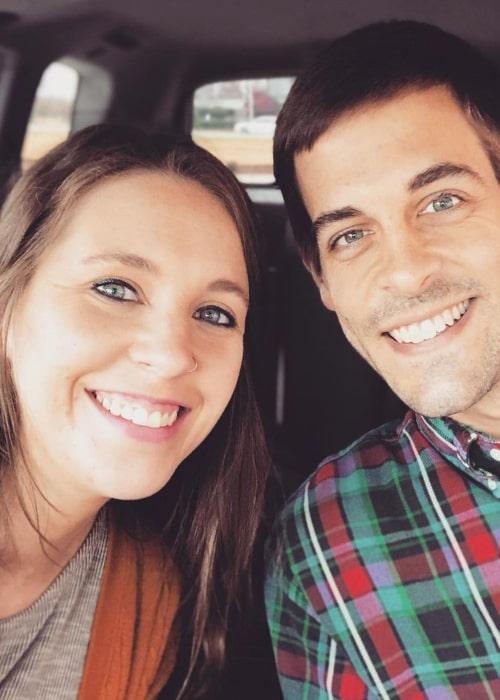 Jill Duggar Dillard and Derick Dillard, as seen in November 2020