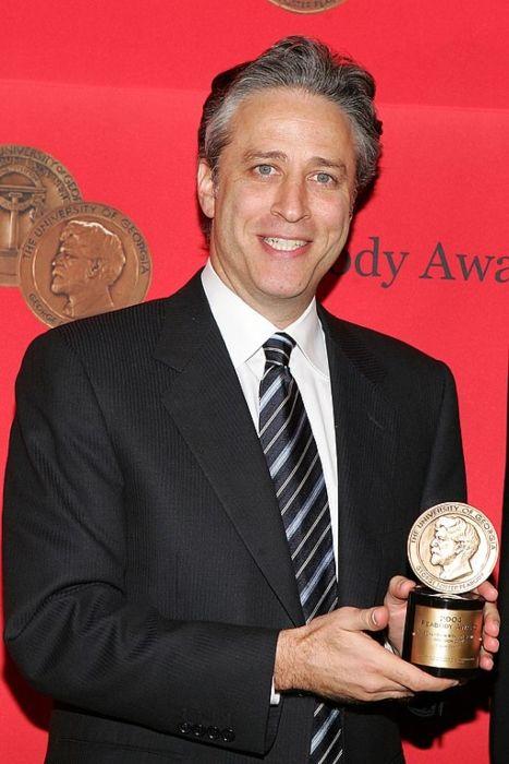 Jon Stewart seen at the Peabody Awards Luncheon in 2005