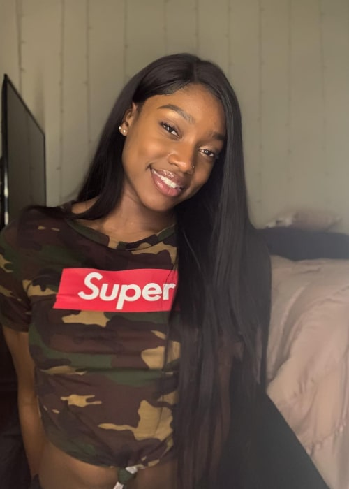 Kaila Charles as seen in an Instagram Post in February 2019