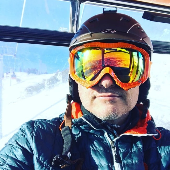 Kerr Smith as seen while taking a selfie in Park City, Utah in January 2020