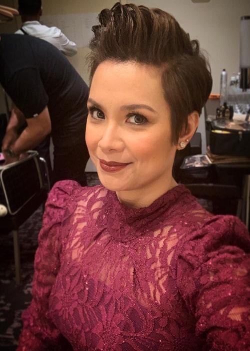 Lea Salonga in an Instagram selfie from February 2020