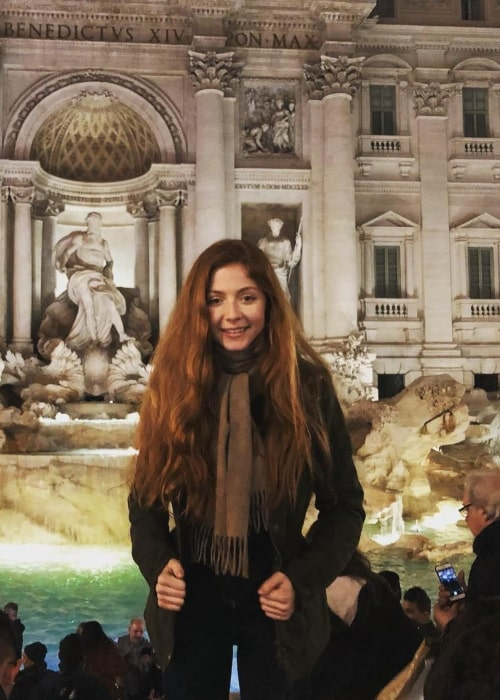 Lexi Walker as seen in a picture that was taken in Rome, Italy in February 2019
