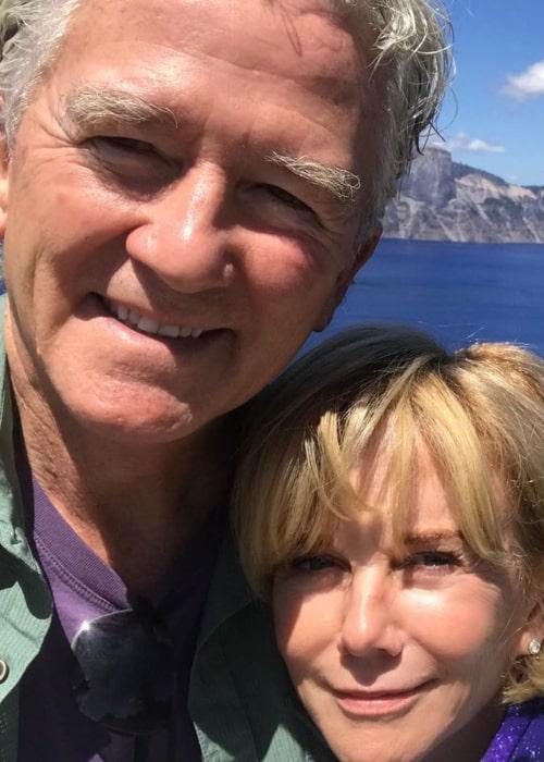 Linda Purl and Patrick Duffy, as seen in November 2020