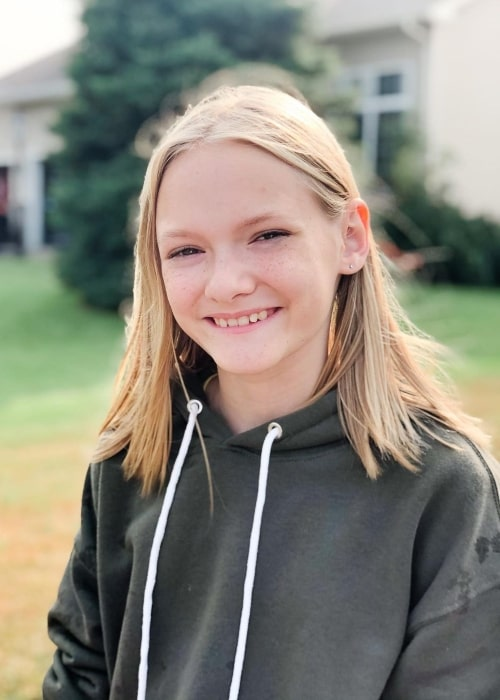 Lyla Grace as seen in a picture that was taken in September 2020