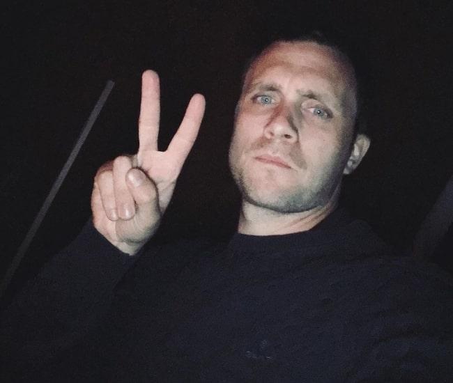 Martin Wallström in a selfie in June 2020