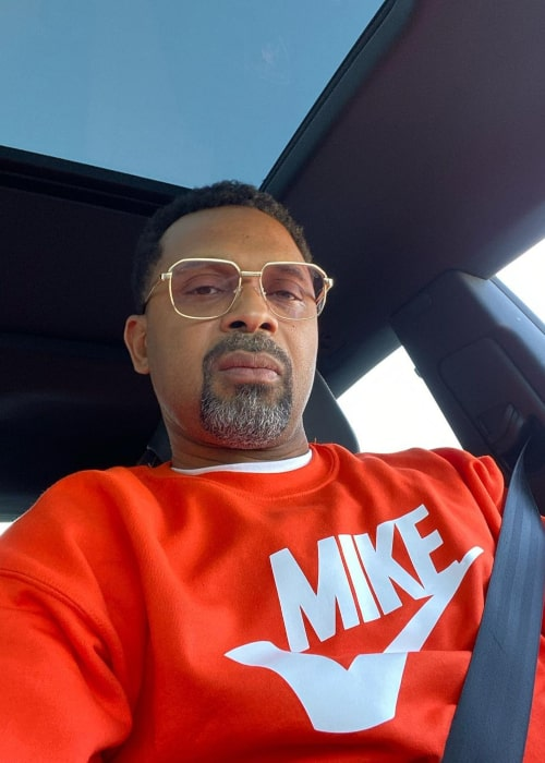 Mike Epps in an Instagram selfie from February 2020