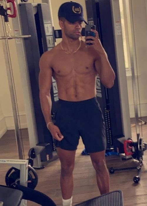 Nate Wyatt as seen in a selfie that was taken in November 2020