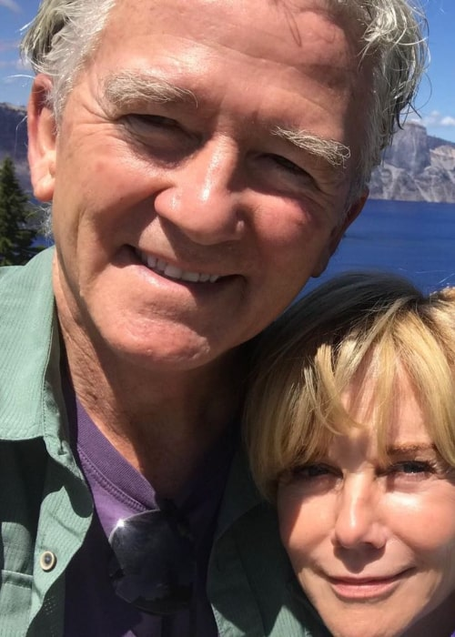 Patrick Duffy and Linda Purl, as seen in November 2020