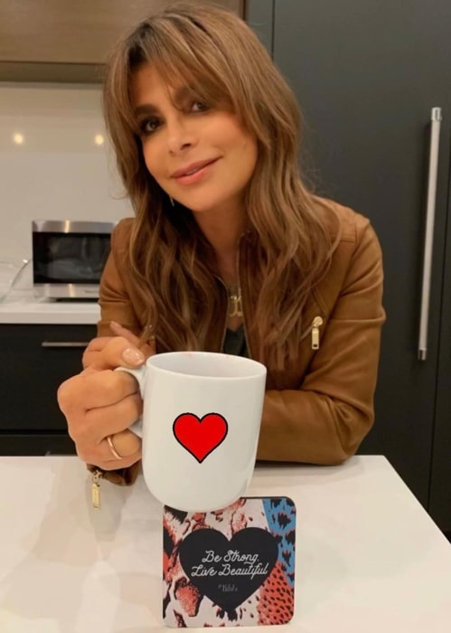 Paula Abdul in March 2019 urging everyone to be strong and to live the most beautiful life that can be dreamed of