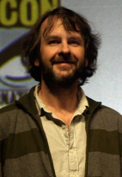 Peter Jackson as seen while promoting the 2009 film 'District 9' at San Diego Comic-Con in July 2009