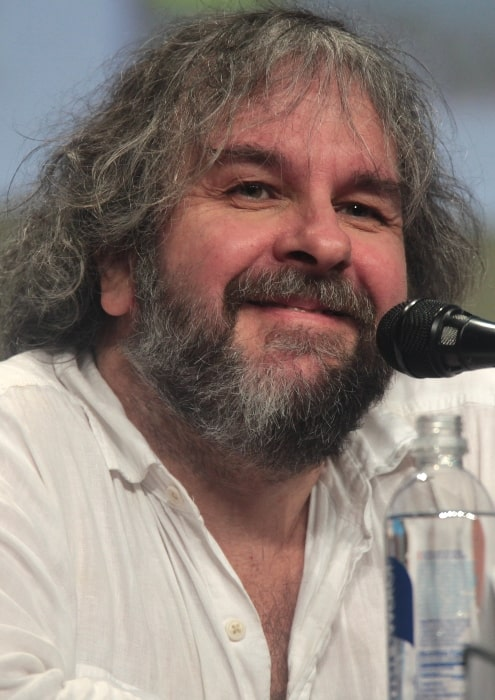 Peter Jackson as seen while speaking at the 2014 San Diego Comic Con International, for 'The Hobbit The Battle of Five Armies', at the San Diego Convention Center in San Diego, California
