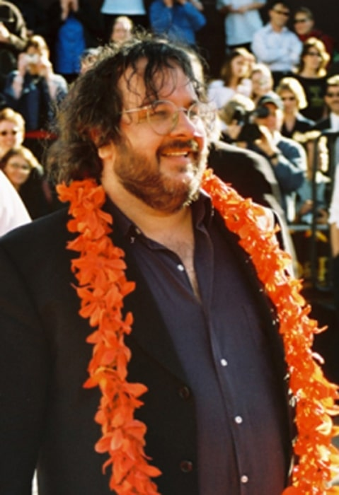 Peter Jackson pictured at the World premiere of the third part of 'Lord of the Rings' in Wellington, New Zealand in December 2003