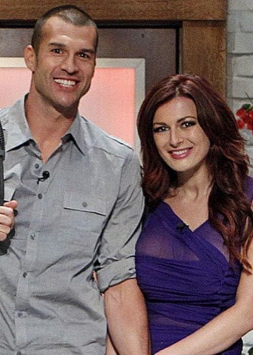 Rachel Reilly and Brendon Villegas, as seen in September 2019