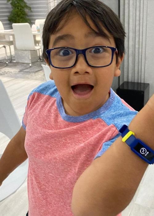 Ryan Kaji as seen in an Instagram Post in July 2020