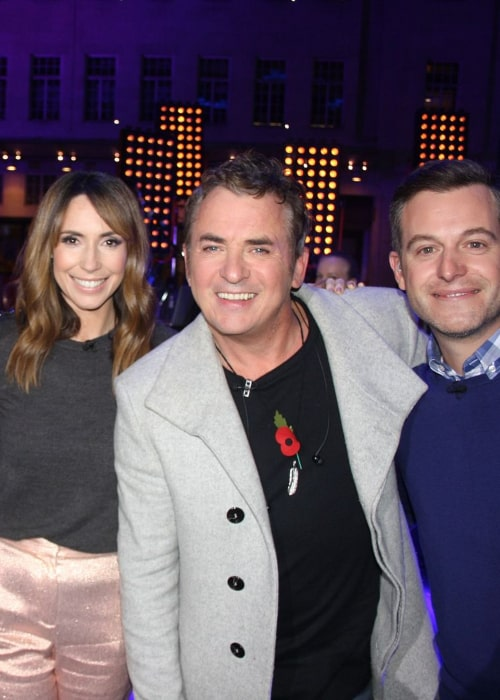 Shane Richie (centre) as seen in an Instagram Post in November 2017