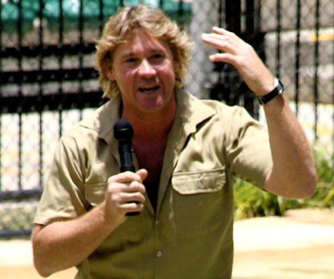 Steve Irwin as seen in 2005