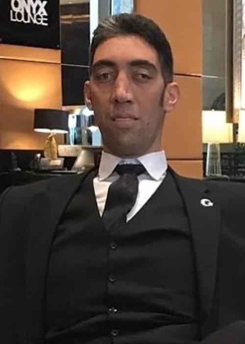 Sultan Kösen as seen in an Instagram Post in November 2019