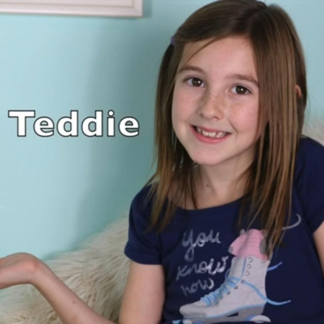 Teddie Smith as seen in a screenshot from a video of her's that was taken in the past