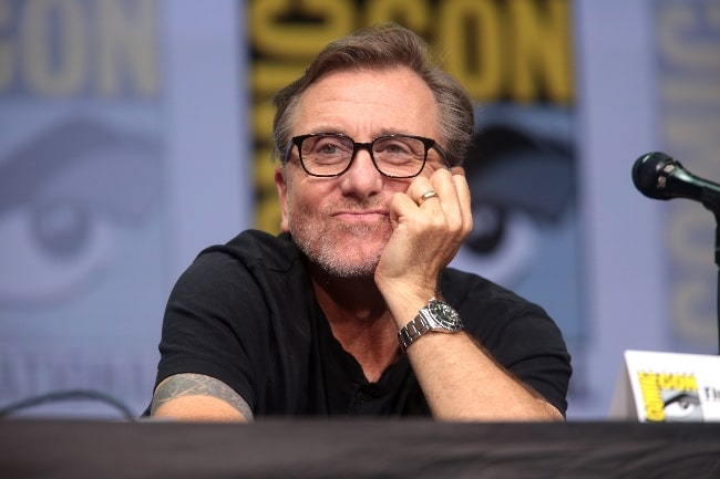 Tim Roth as seen while speaking at the 2017 San Diego Comic Con International, for 'Twin Peaks', at the San Diego Convention Center in San Diego, California