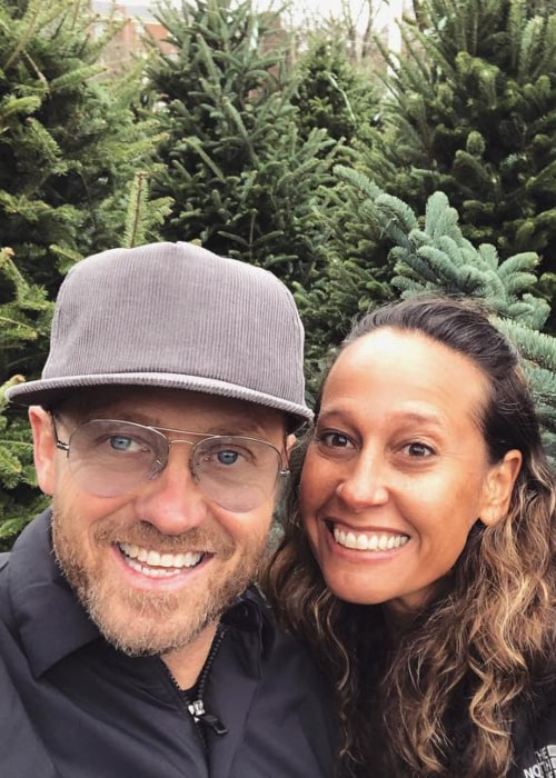 TobyMac and Amanda Levy McKeehan, as seen in December 2018