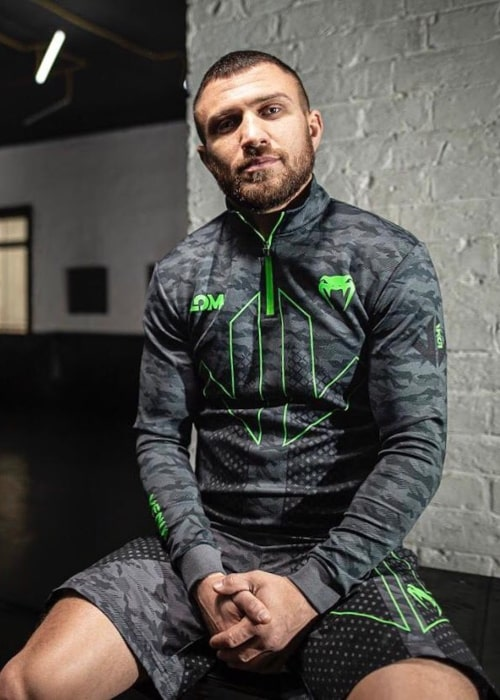 Vasyl Lomachenko as seen in an Instagram Post in March 2020