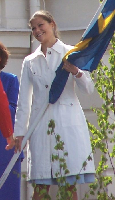 Victoria as seen on the National Day of Sweden in 2006