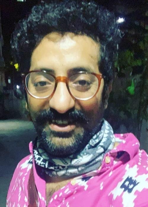 Vikram Kochhar as seen in a selfie that was taken in September 2020