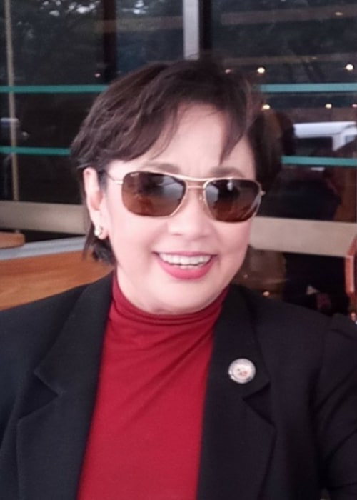 Vilma Santos in an Instagram selfie from October 2018