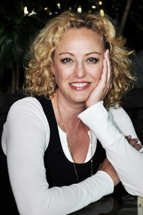Virginia Madsen at a special appearance at Hollywood Blvd. Cinema in Woodridge, Illinois in July 2012