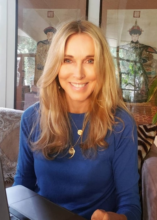 Alana Stewart as seen while smiling in an Instagram post in November 2020