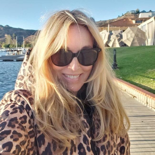 Alana Stewart as seen while taking a selfie in Westlake Village, California in November 2020