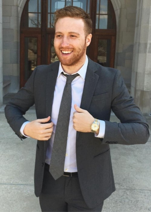 Andrew Siwicki as seen in a picture that was taken in April 2018
