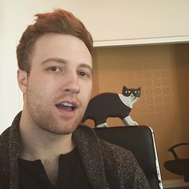 Andrew Siwicki as seen in a selfie that was taken in January 2018