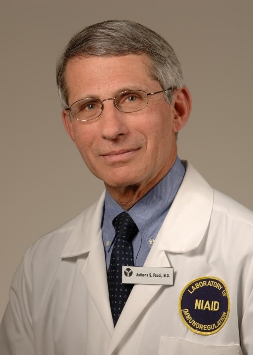 Anthony Fauci as seen in the official portrait in 2007