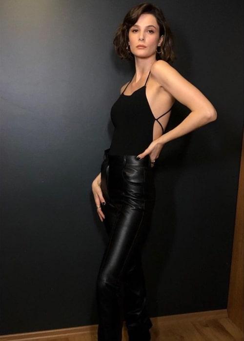 Büşra Develi as seen in a picture that was taken in February 2020
