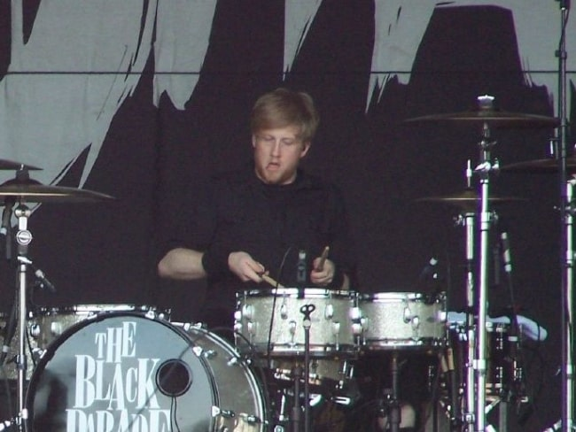 Bob Bryar as seen while performing with 'My Chemical Romance' in February 2007