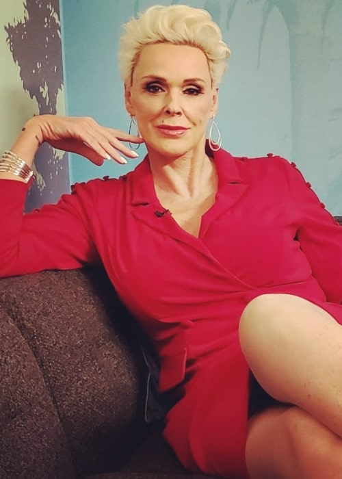 Brigitte Nielsen as seen in an Instagram Post in January 2020