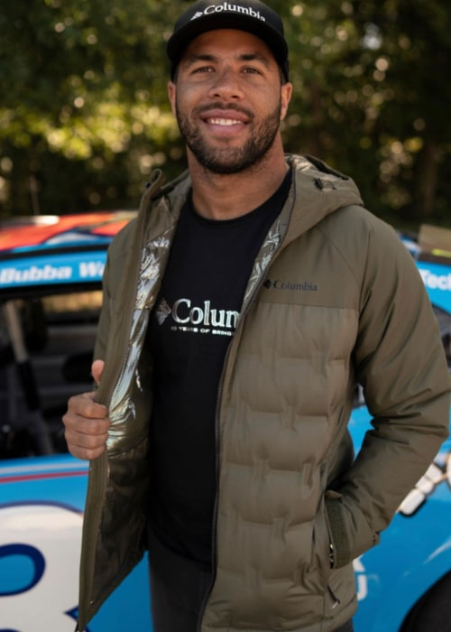 Bubba Wallace as seen in an Instagram Post in October 2020